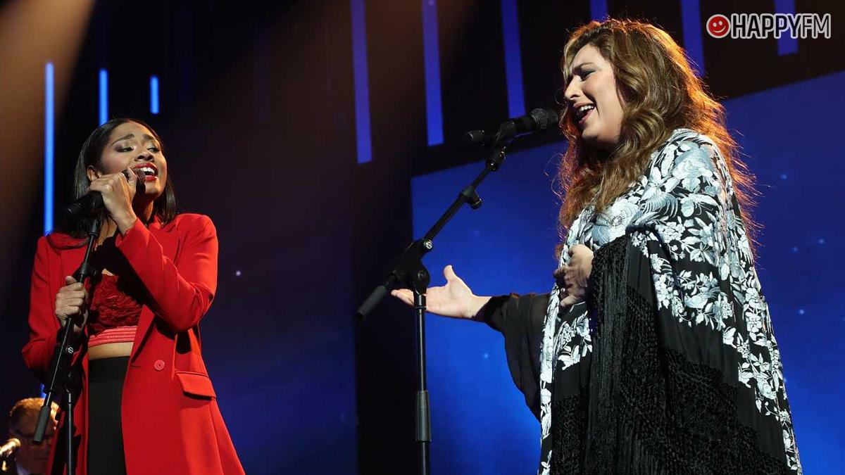 Estrella Morente y Nia en 'OT 2020'