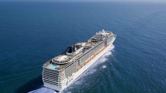 La llegada de cruceros a España repunta ligeramente pero continúa un 50% por debajo de 2019