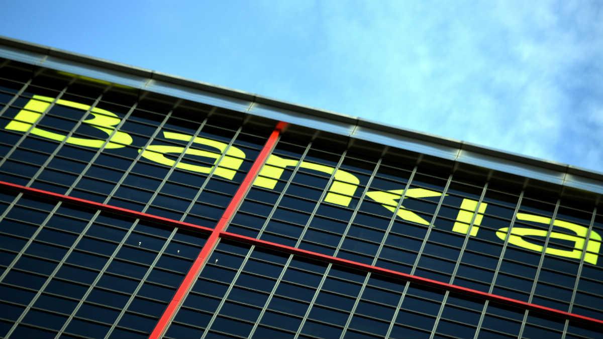 Sede de Bankia en las Torres KIO de Madrid