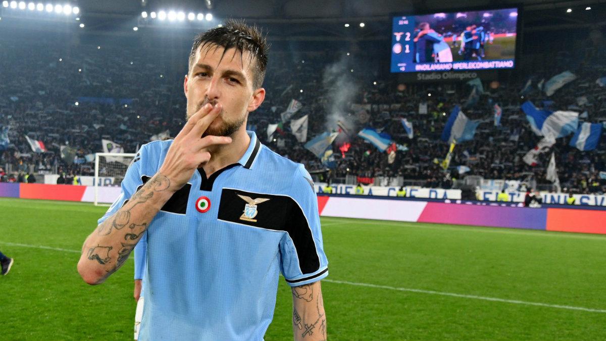 Francesco Acerbi, jugador de la Lazio. (@Acerbi_Fra)