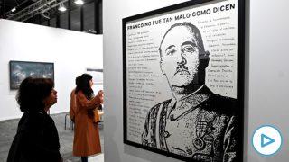 El dictador Francisco Franco en la feria de arte ARCO. (Foto: EFE)