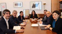 Reunión de Bildu con el PSOE
