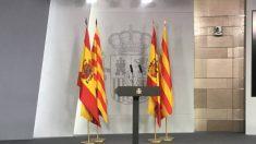 Sala de prensa del Consejo de Ministros