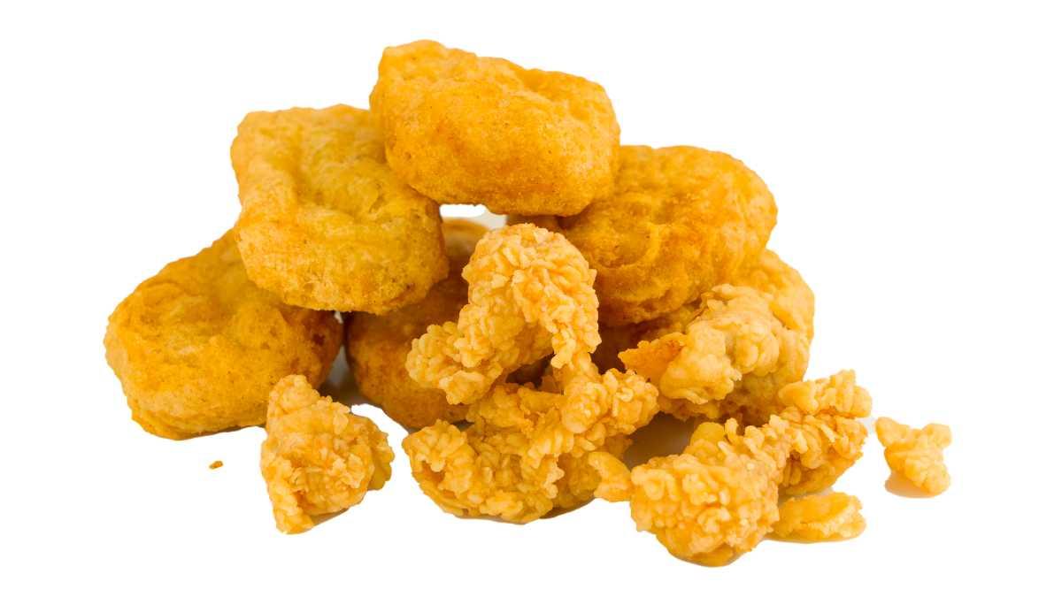 Receta de Nuggets de pollo con guacamole y mayonesa