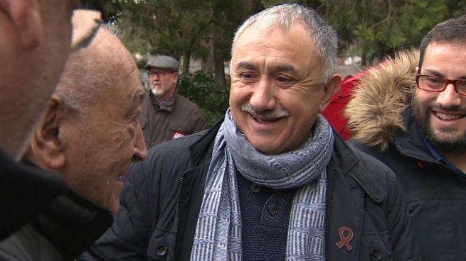 El secretario general de UGT, Pepe Álvarez. (Foto: EP)