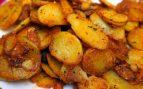 Patatas fritas ricas saludables
