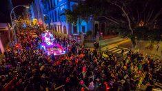 El Entierro de la Sardina es el acto principal de hoy en el carnaval chicharrero