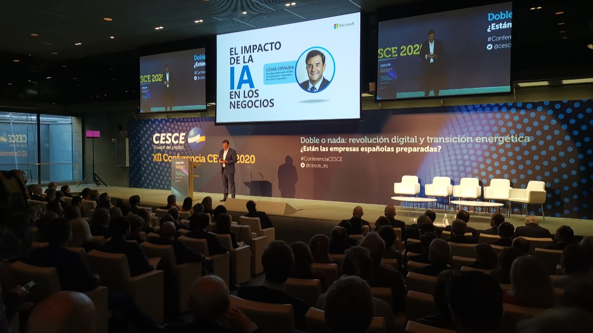 César Cernuda, presidente de Microsoft Latinoamérica.