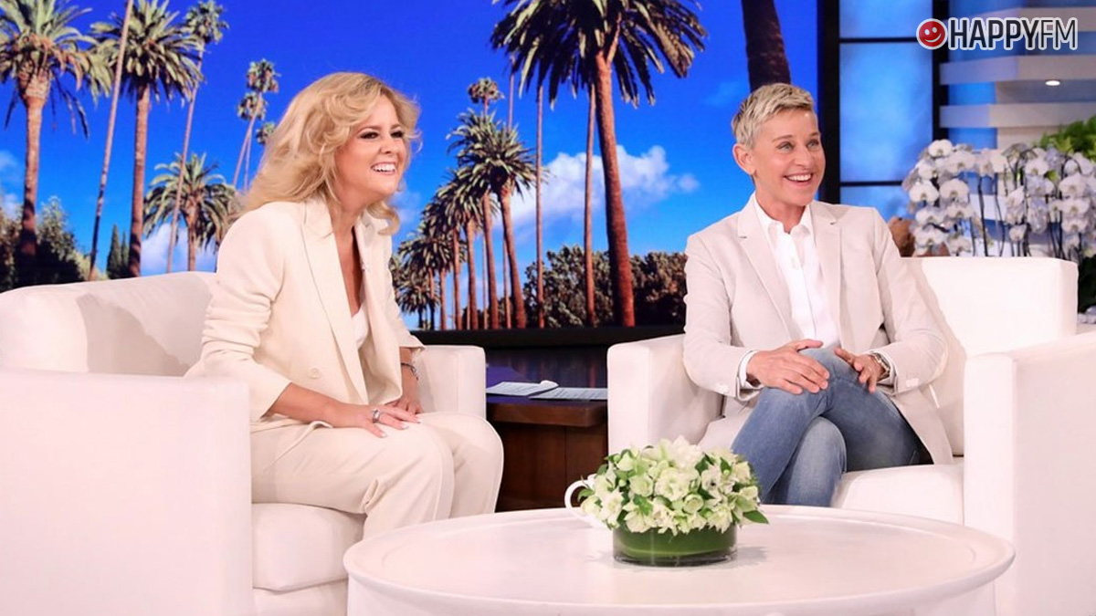 Charlotte Awbery va a 'The Ellen Show'