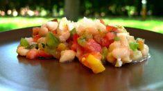 Receta de Ensalada de alubias, remolacha y acelgas