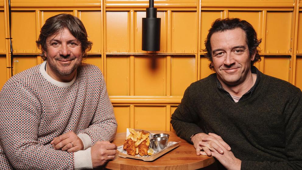 Cruz y Martínez, Socios fundadores de The Fish & Chips Company.