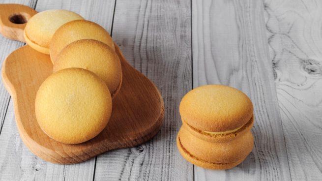 Receta de galletas de natillas