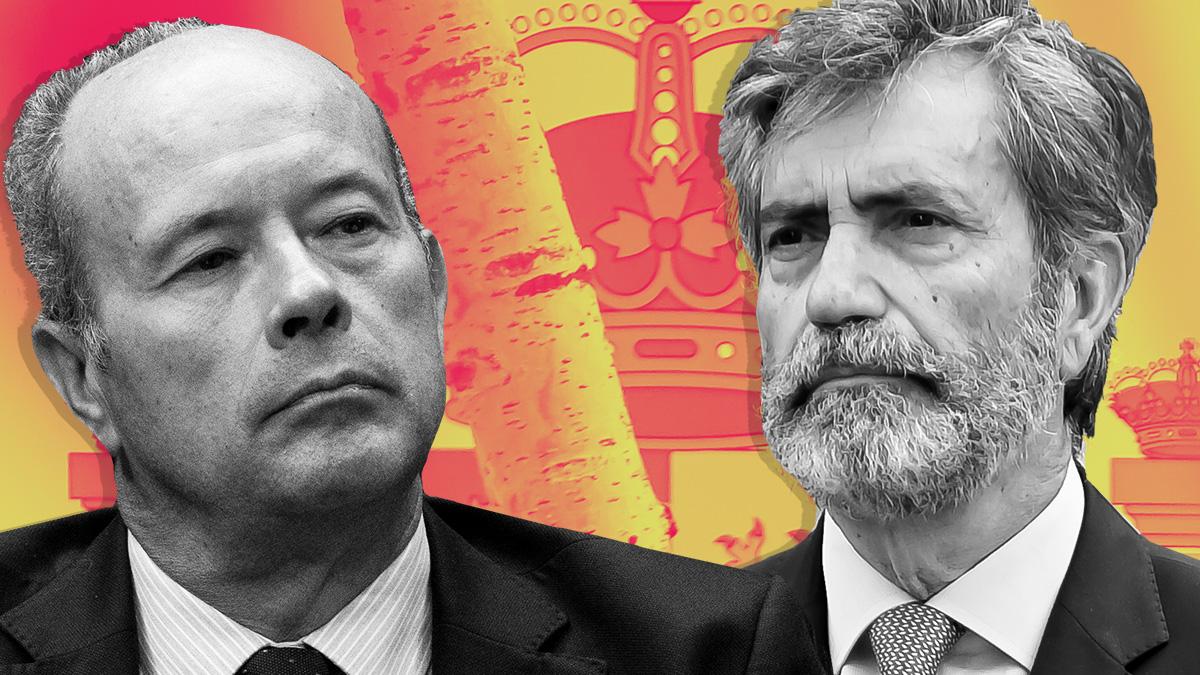 Juan Carlos Campo y Carlos Lesmes