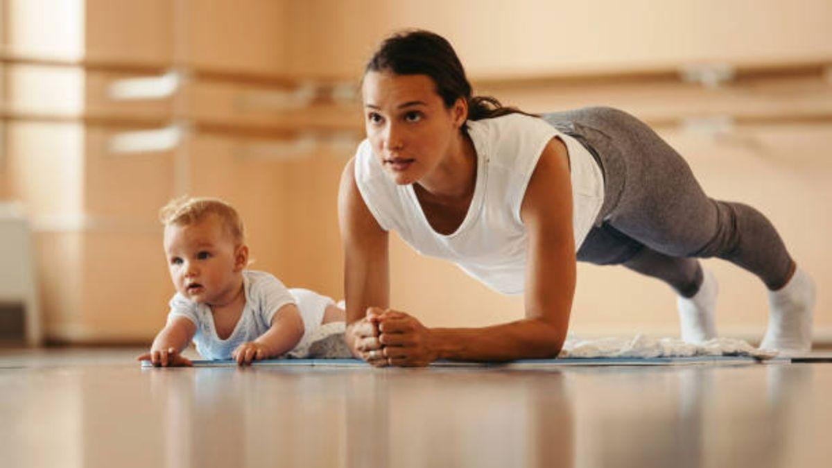 Pérdida de peso después del parto: ¿qué ejercicios son los..