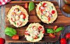 Receta de pizza de berenjena con pan de molde