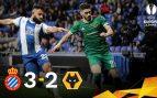 El Espanyol se despide con victoria gracias a un hat-trick de Calleri