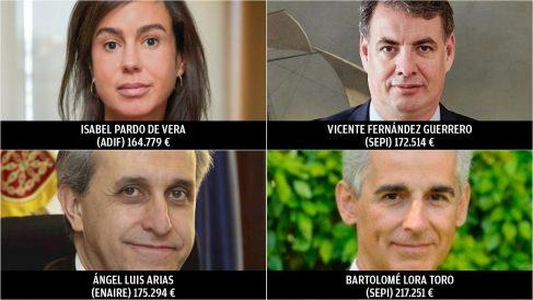 Estos cuatro altos cargos del Gobierno ganaron más de 164.000 euros el año pasado.