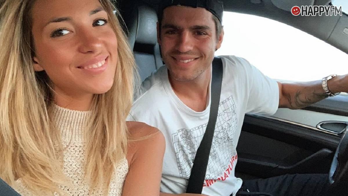 Álvaro Morata y Alice Campello
