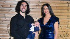 Marc Cucurella, Claudia Rodríguez y su hijo Mateo (@Cucurella3)