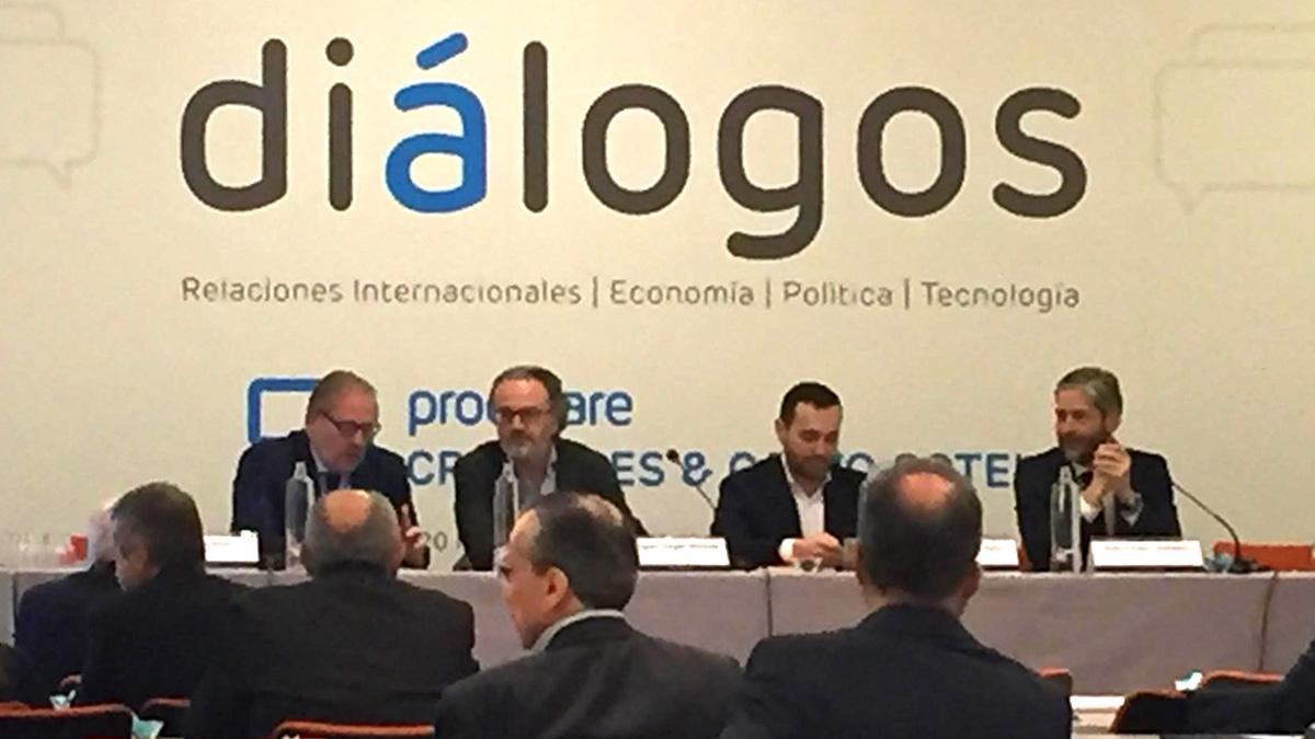 Jornada Diálogos organizada por Cremades & Calvo Sotelo.
