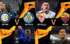 Inter-Getafe y Sevilla-Roma en los octavos de la Europa League