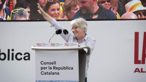Clara Ponsatí, este sábado en Perpiñán