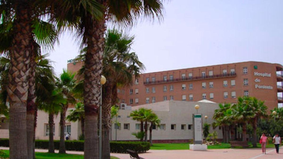 Hospital de Poniente. Foto: EP