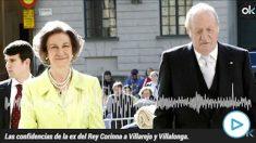 Los Reyes eméritos Sofía y Juan Carlos I.