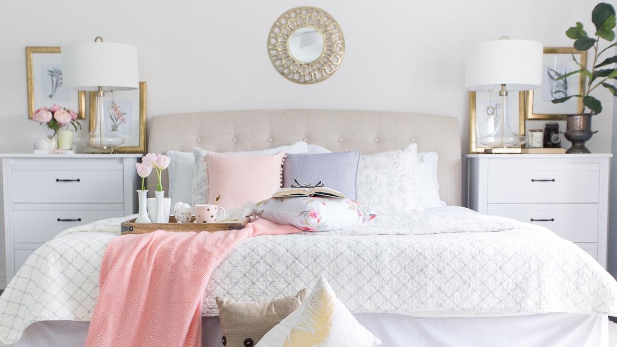 La primavera es el momento ideal para cambiar la decoración del dormitorio, y de todo el hogar en general