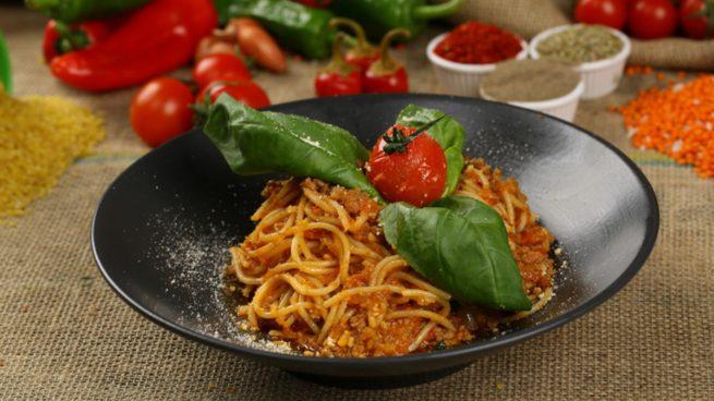 Receta de espaguetis al vermut