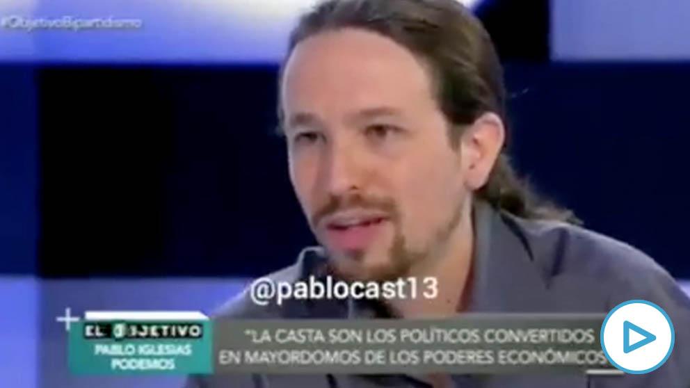 Cuando Pablo Iglesias defendía que los cargos públicos de Podemos no cobrasen más de tres veces el salario mínimo interprofesional.