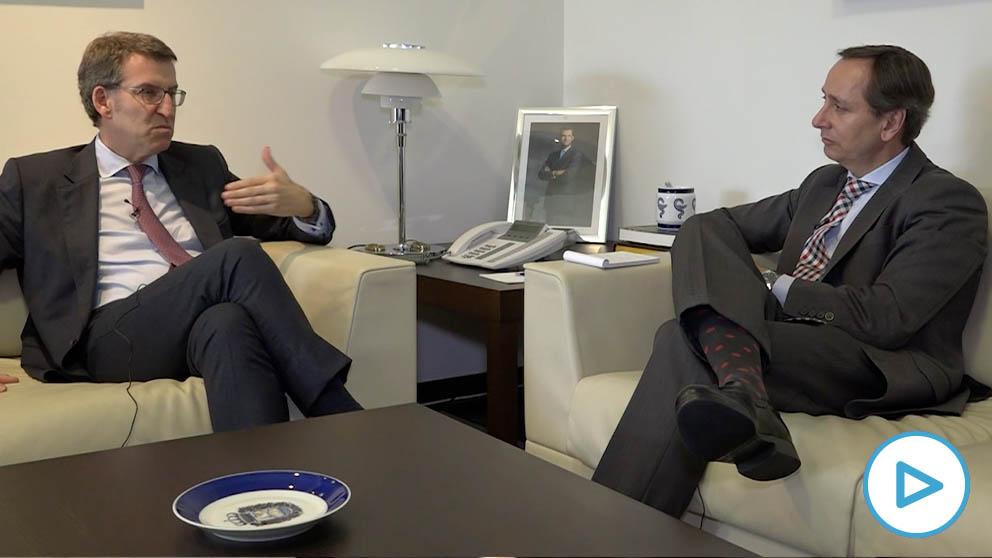 Feijóo advierte: «Exigiré al moroso de Sánchez el dinero que debe a Galicia mientras se sienta con Torra»