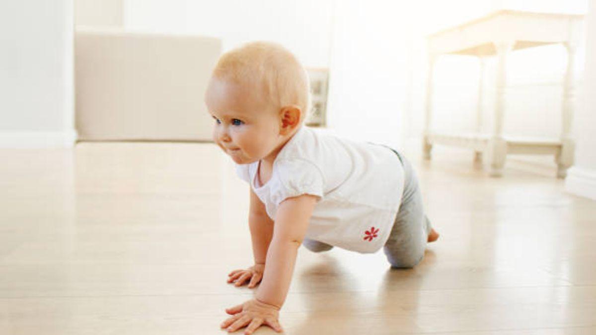 Descubre en qué momento comienza a gatear el bebé