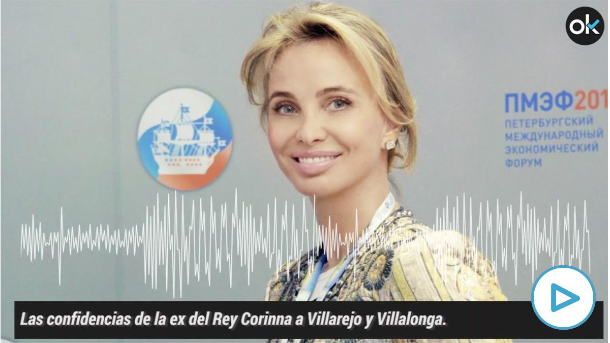 Grabación de Corinna durante la reunión con Villalonga y el comisario Villarejo.