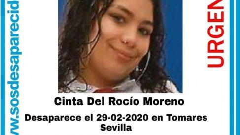 Cinta del Rio, desaparecida en Tomares, Sevilla
