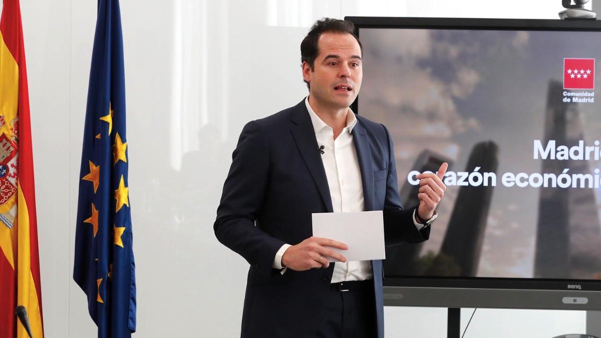El vicepresidente, consejero de Deportes, Transparencia y portavoz del Gobierno de la Comunidad de Madrid, Ignacio Aguado. (Foto: Comunidad)