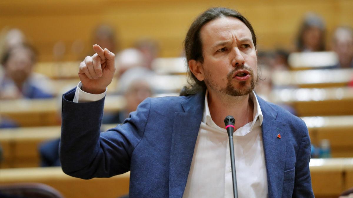 Pablo Iglesias, vicepresidente segundo del Gobierno y líder de Podemos.