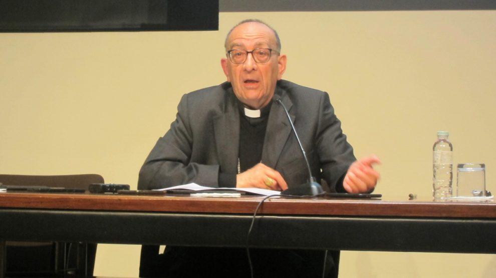 El arzobispo de Barcelona, Juan José Omella, elegido nuevo presidente de los obispos españoles. Foto: EP