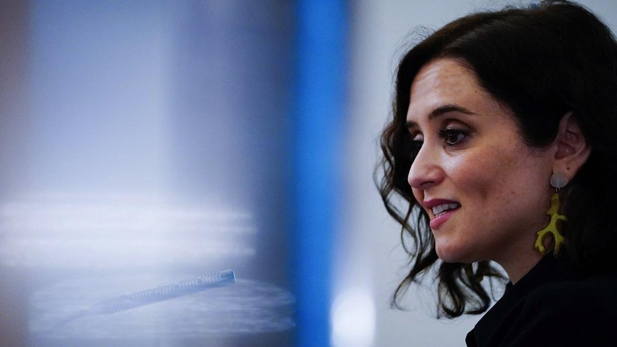 La presidenta de la Comunidad de Madrid, Isabel Díaz Ayuso (Foto: CAM).
