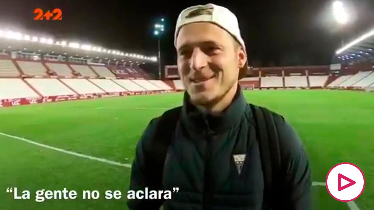 Zozulya, jugador del Albacete.