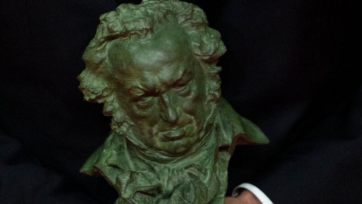 3 curiosidades sobre la estatuilla de los Premios Goya