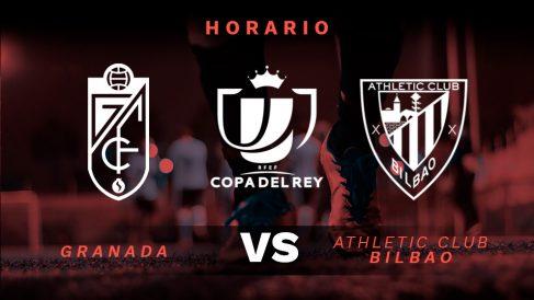 Granada – Athletic de Bilbao: partido de vuelta de las semifinales de la Copa del Rey.