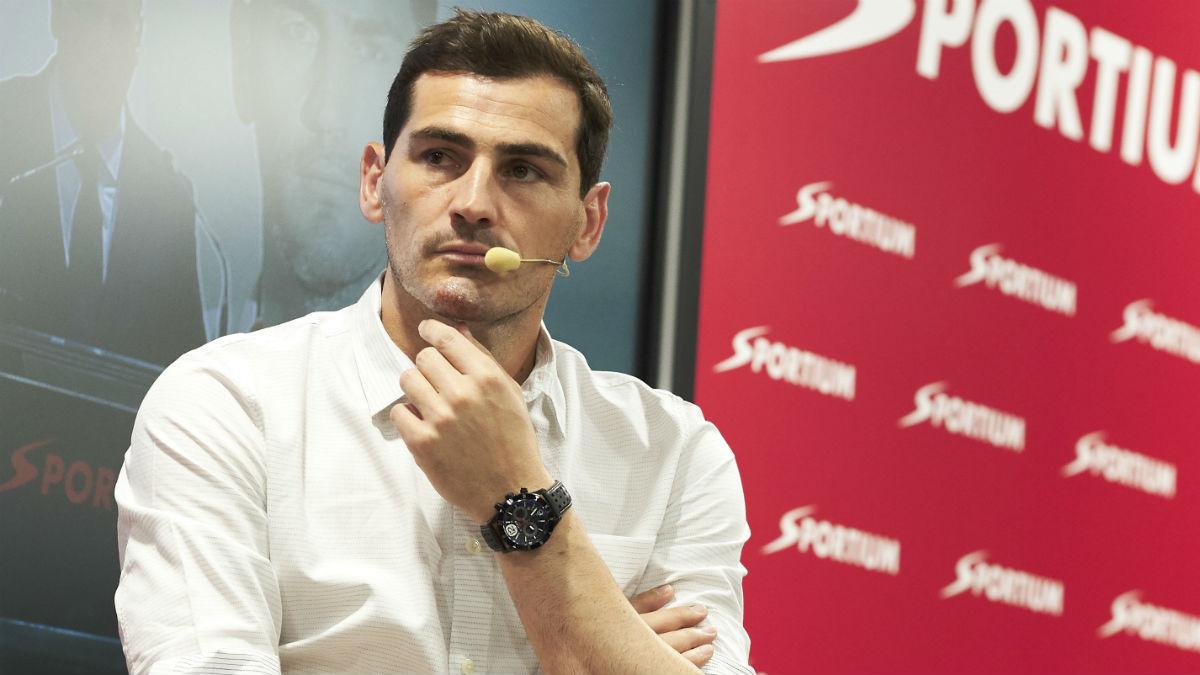 Iker Casillas, en un acto. (Getty)
