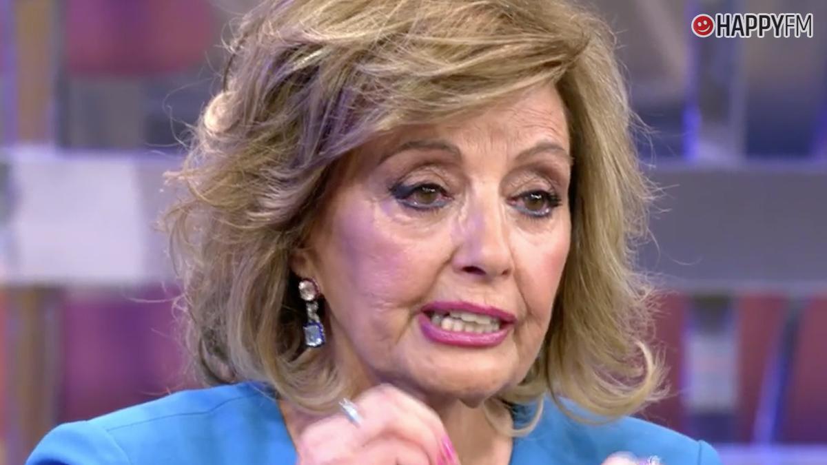 María Teresa Campos, entre lágrimas