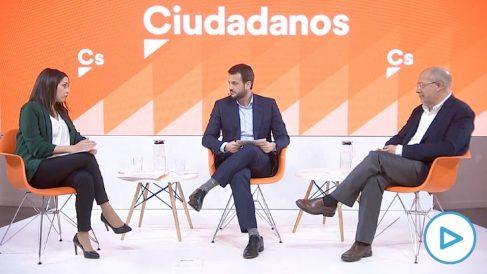 Debate entre Inés Arrimadas y Francisco Igea.