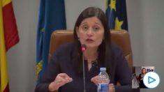 La alcaldesa de Castrillón, Yasmina Triguero (IU), llama «trifachito» a PP, Ciudadanos y Vox en varias ocasiones durante un Pleno municipal.
