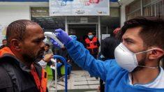 Aeropuerto en Bolivia con controles para evitar el coronavirus. (Foto. EP)
