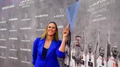 Amaya Valdemoro durante los premios Laureus 2020. (Getty)