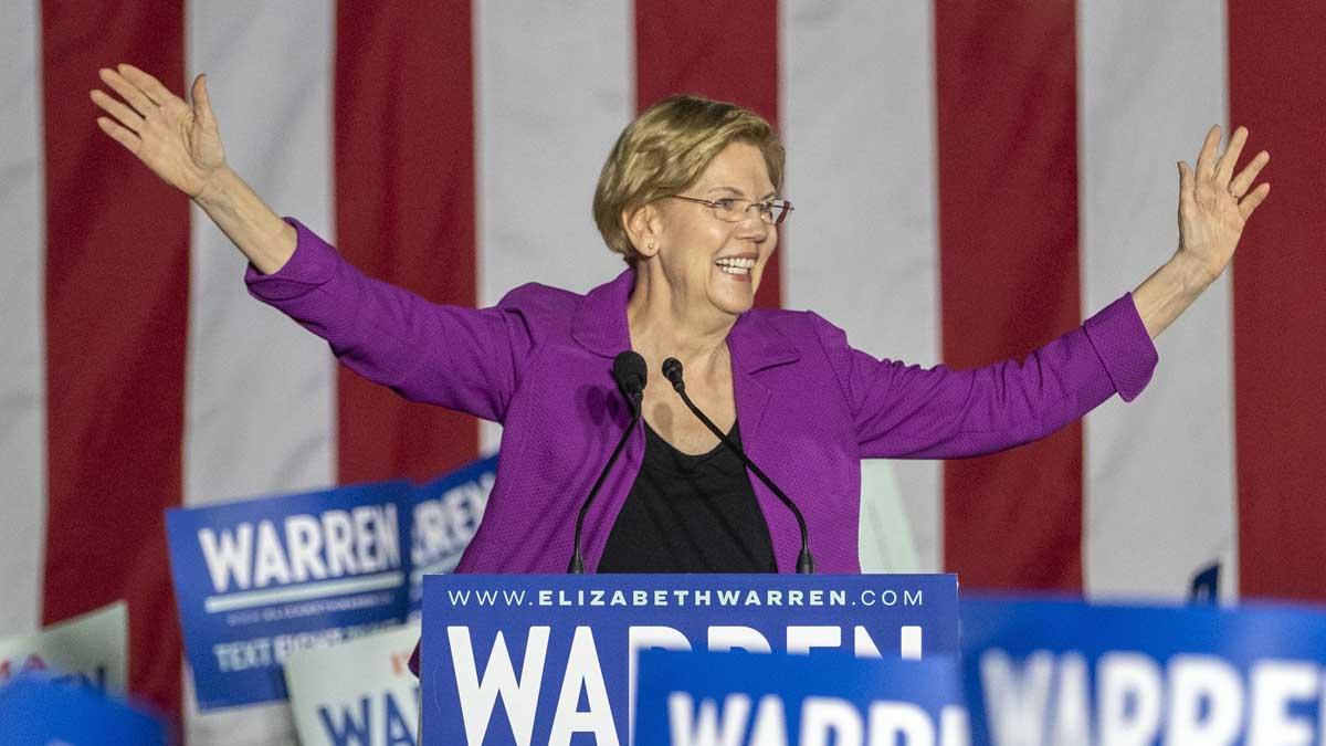 Elisabeth Warren. Foto: Europa Press