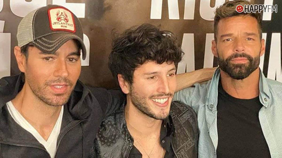 Enrique Iglesias, Sebastián Yatra y Ricky Martín